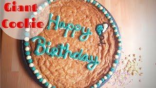 Giant Birthday Cookie Recipe
