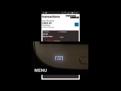 Video of Checkbook Genius 3 App