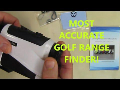 Golf Rangefinder - Range : 5-1600 Yards, +/- 0.33 Yard Accuracy, Laser Rangefinder