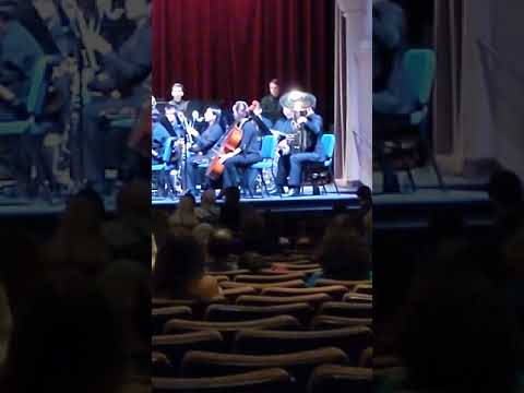 Weber Bassoon Concerto Solo Performance with the University of San Diego Wind Ensemble 3rd Movement