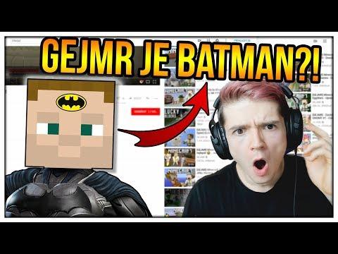 CO MÁ SPOLEČNÉHO GEJMR A BATMAN?! (The Recommended Game)