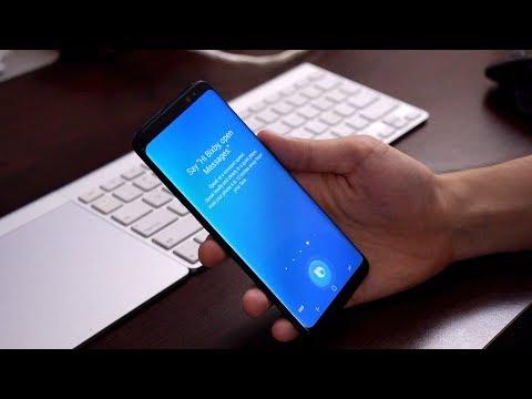 Samsung Bixby Voice comunica con te ed è capace di interagire con le app, ecco una nuova video dimostrazione