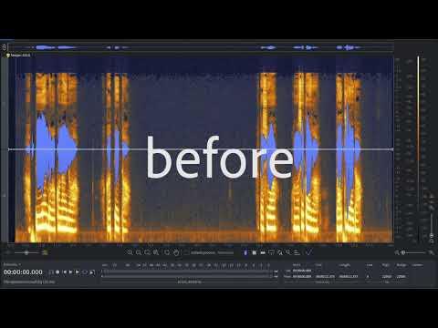 音声データのノイズを除去、問題を修正します 音量データをワンランク上のクオリティにいたします! イメージ1
