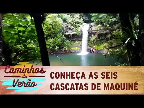 Caminhos de Verão: conheça as seis cascatas de Maquiné