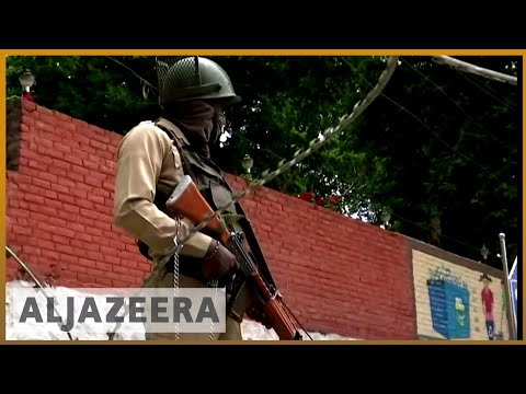 Funeral in Kashmir disrupted by gunshots and tear gas | Al Jazeera English