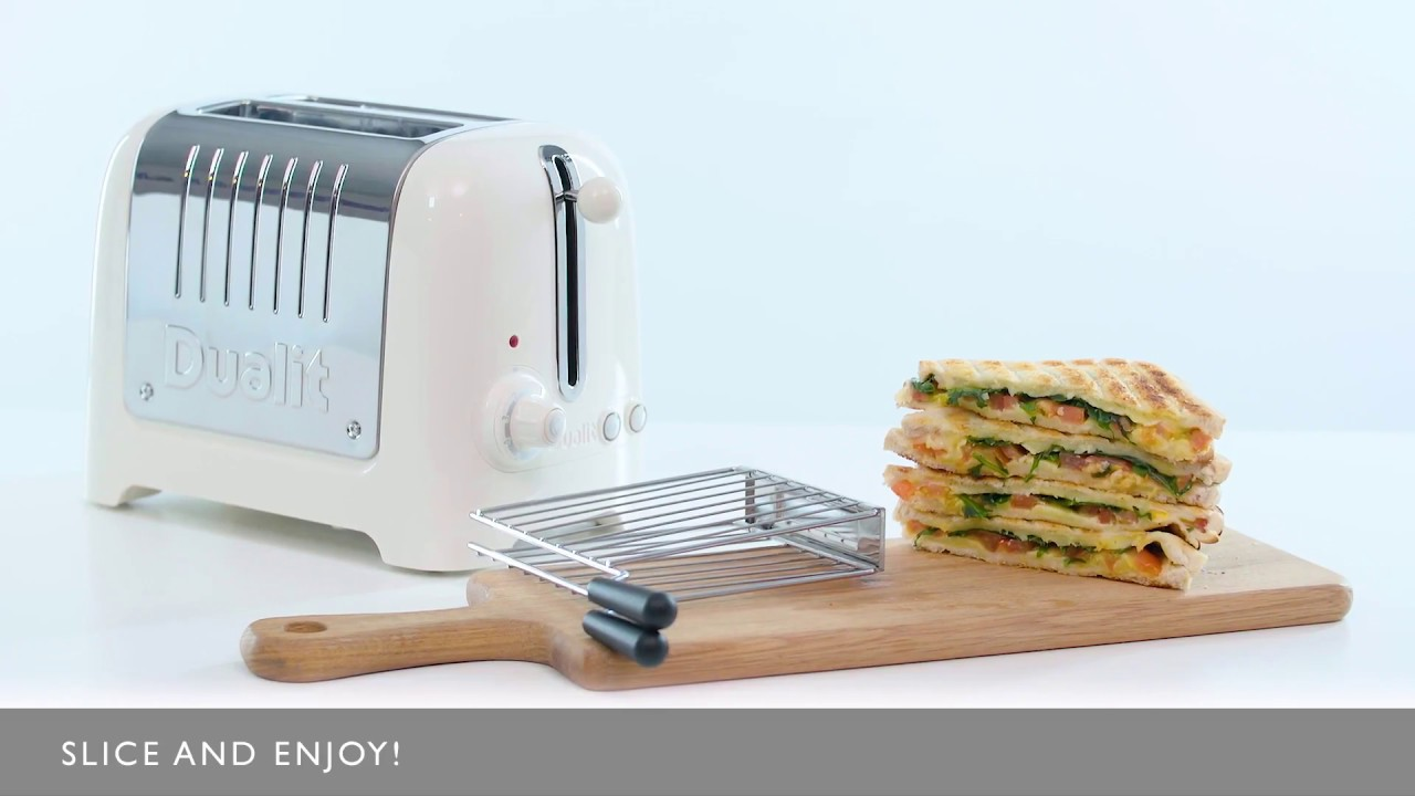 How to make a toasted sandwich with the Dualit Lite Toaster and Sandwich Cage  preview