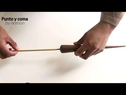 Часы Punto y Coma орех