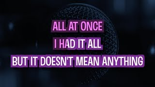 Doesn't Mean Anything (Karaoke Version) - Alicia Keys | TracksPlanet