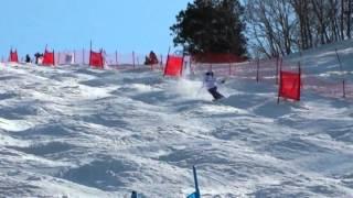 第34回全日本スキー選手権大会フリースタイルモーグル