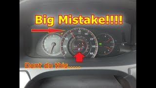 What Really Happens if you put your car in Reverse while driving?