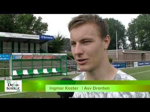 VIDEO | Ingmar Koster kijkt vooral uit naar Asv Dronten tegen Staphorst