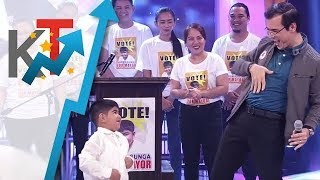 Mayor Isko at Aaron, may nakakaaliw na dance showdown