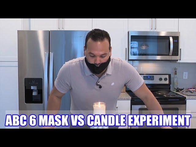 Как быстро протестировать эффективность самодельной маски