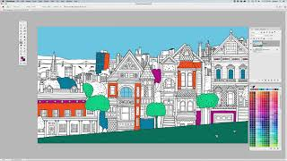 Paint Bucket tool overview in Photoshop