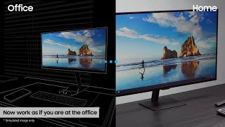 Smart Monitor: How to work from home without a PC   Samsung thumbnail