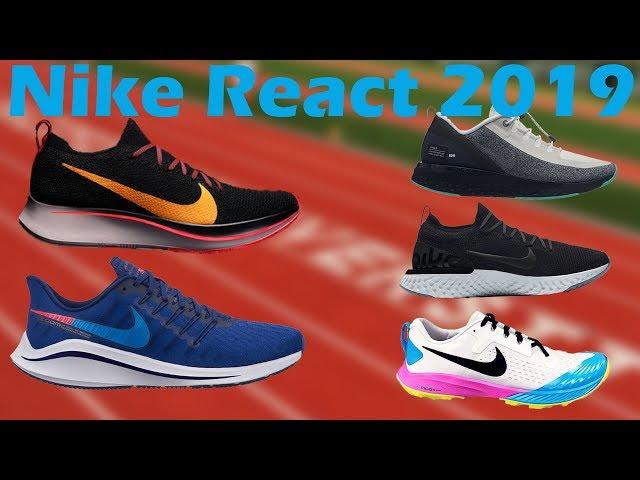 New Nike React Running Shoes 2019 Rr Sneak Leaks