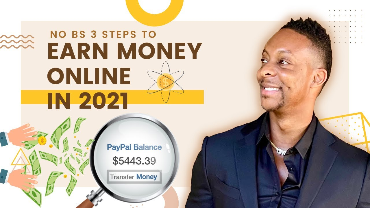 ($ 5,000 A WEEK) No BS 3 Steps To Earn Money Online Generate Income Online 2021 Generate Income Online thumbnail