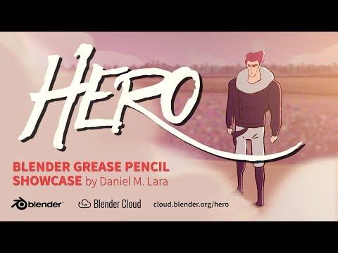 blender pencil grease