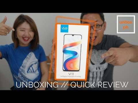 vivo V11 Unboxing and Quick Review