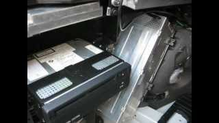 How to Remove Logic7 Amplifier and Navigation from E65 BMW 745i 750i for Repair.