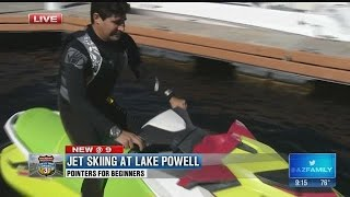 Jet skiing for beginners