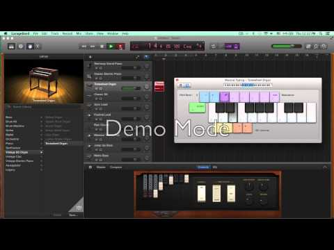 Garage Band tutorial 1: getting started