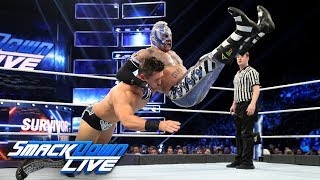 Rey Mysterio battles The Miz to stay on Team SmackDown: SmackDown LIVE, Nov. 13, 2018