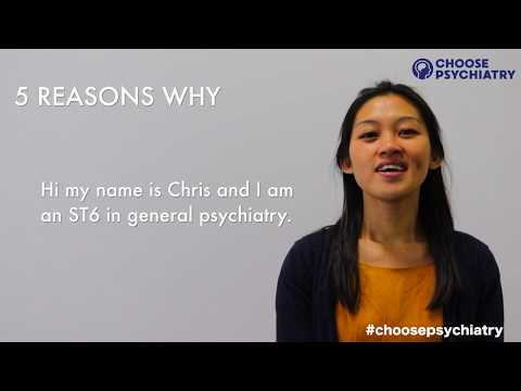 Choose psychiatry: Five reasons why - Chris
