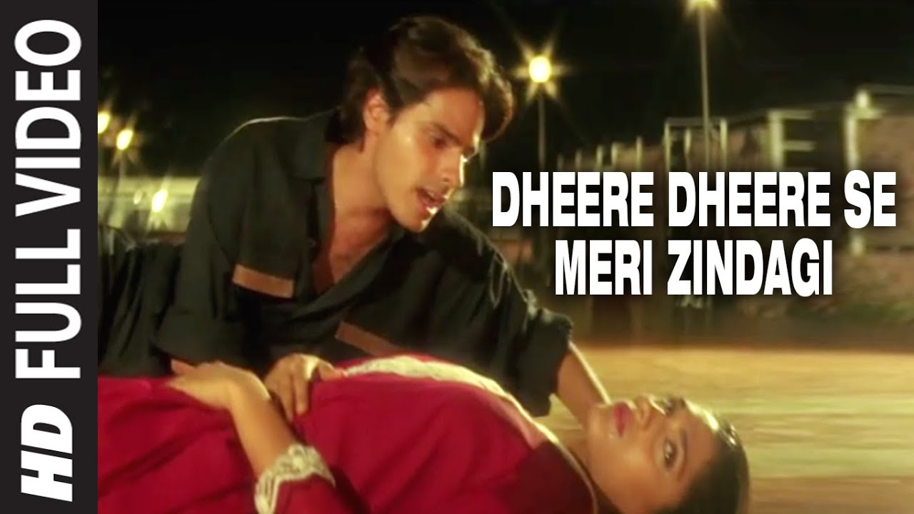 Dheere Dheere Se Meri Zindagi Mein Aana Hindi lyrics