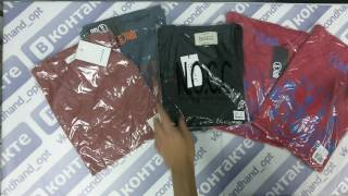T- shirts new DK- футболки сток 3пак 20шт 4.50€/шт