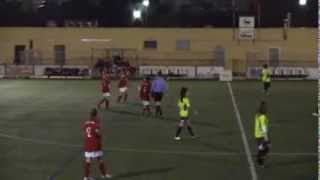 preview picture of video 'Futbol Femení - VALLIRANA C.F. 0 -  UE PLA  3 - 11 gener  2014'