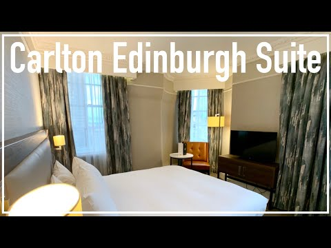 Staying In A Suite In The Hilton Carlton Edinburgh | Hotel Tour