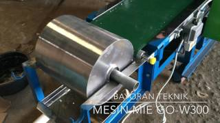 Mesin Mie dan Kulit Pangsit GO W300 dari Bayoran Teknik