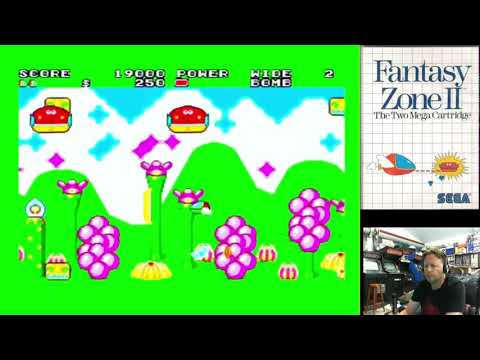 Let's Play - Fantasy Zone II (Sega Master System with FM Sound Unit)