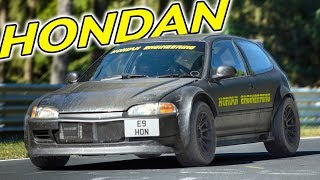 EPIC Ride Alongs in a N/A HONDA & the APEX TAXI!