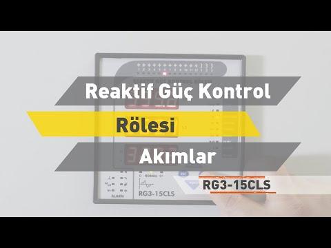 RG3 -15 CLS Reaktif Güç Kontrol Rölesi - Akımlar