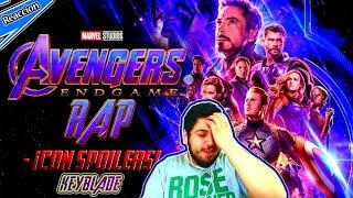 AVENGERS: ENDGAME RAP (¡¡Con Spoilers!!) - Final Del Juego   Keyblade   REACCION
