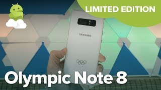 Samsung Galaxy Note8: Olympic Limited Edition for 2018 Pyeongchang Winter Games!