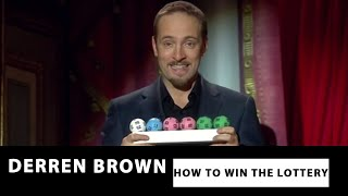 Fix The Machine - Derren Brown: How To Win The Lottery