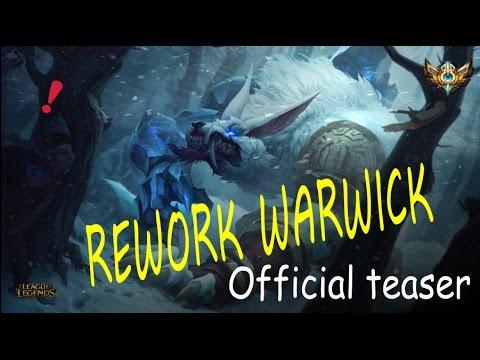 TEASER OFICIAL / Warwick: La ira de Zaun – League of Legends / REWORK Warwick¡