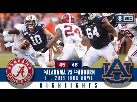 Download #5 Alabama vs #15 Auburn Highlights: Bama suffers HUGE loss in a wild 2019 Iron Bowl | CBS Sports HD Mp4 3GP Video and MP3