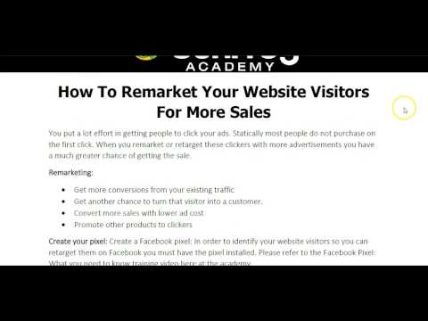 How to Retarget Your Website Visitors on Facebook for More Sales /