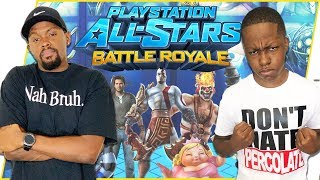 Trying To RUIN My Annoying Little Brother's Childhood! - PlayStation All-Stars Battle Royale