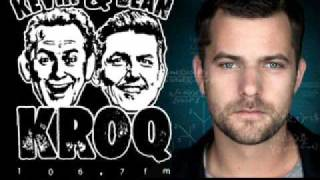 Joshua Jackson Radio Interview by Kevin and Bean - KROQ