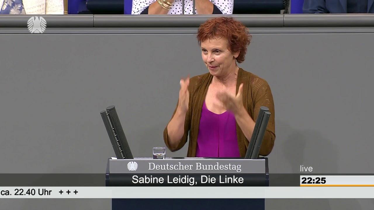 Rede von Sabine Leidig am 27. Juni 2019 im Deutschen Bundestag zum Thema Bahn retten geht nur mit Umverteilung