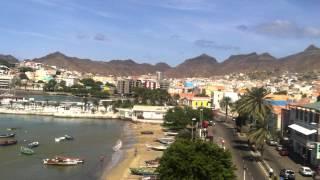 preview picture of video 'São Vicente - Mindelo: Rundblick vom Torre de Belem'