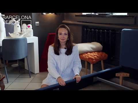 Кровать Lydia 90х190 розовая