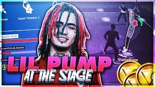 USING LIL PUMP'S IRL JUMPSHOT AT THE STAGE ON NBA 2K18!! + INSANE CHRISTMAS GIVEAWAY!