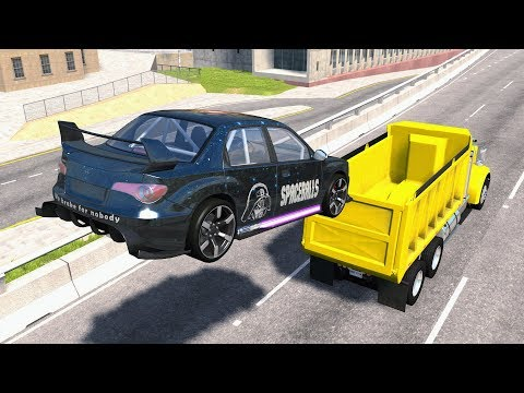 Incredible Stunts & Jump Fails #2 - BeamNG Drive
