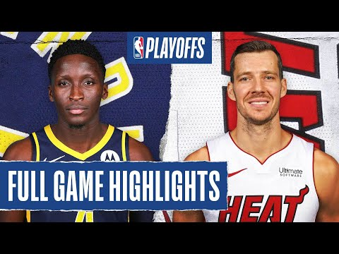 PACERS at HEAT | FULL GAME HIGHLIGHTS | August 24, 2020